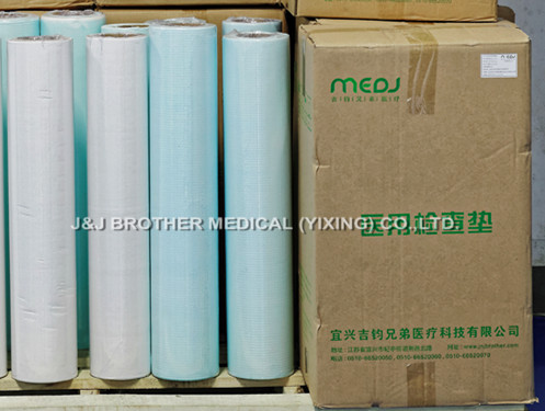 Hygienic Medical Disposable Bed Sheets Roll MJJC02-01 With Crepe Paper