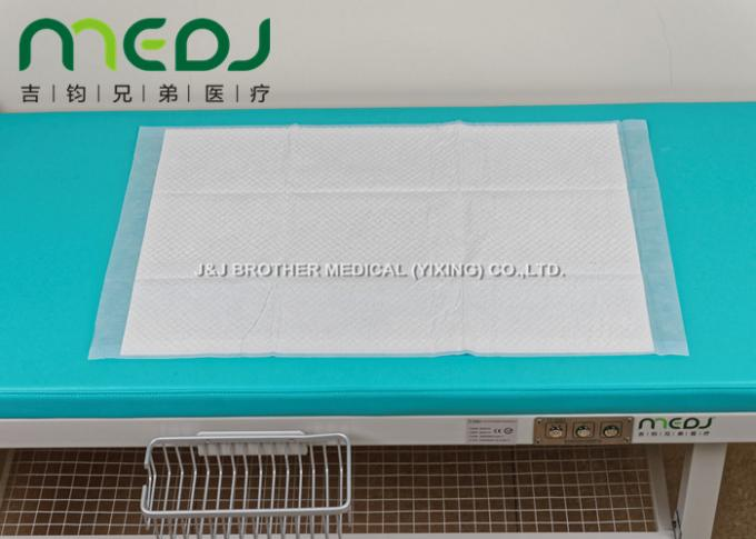 45X60cm Hospital Disposable Underpads Anti - Leakage Wash - Free Consumables