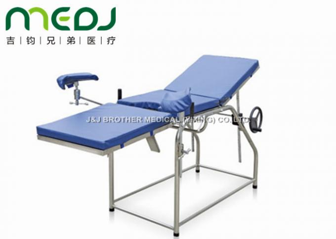 Simple Structure Gynecological Examination Table Stainless Frame MJSD03-06