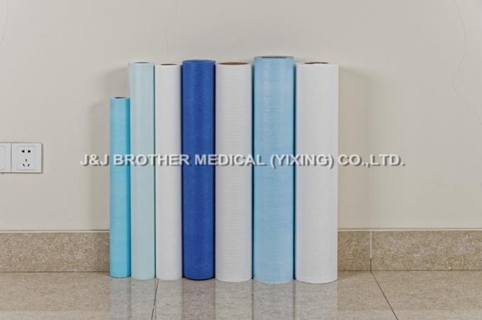 Disposable Polyethylene Medical Table Paper Roll Tissue And PE Coated