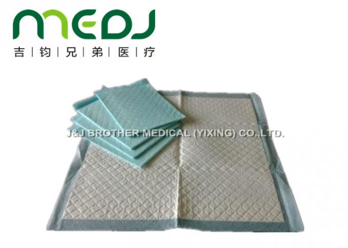 Incontinence Disposable Medical Underpads High Absorptance Waterproof PE Film Bottom
