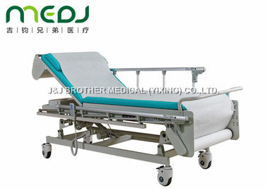 China Multifunction Hospital Examination Bed 605-805mm Height With Protective Guardrail supplier