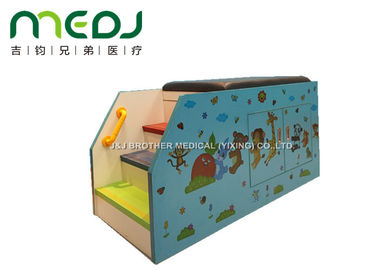 China Animal Party Pediatric Examination Table , Cartoon Pediatric Exam Table With Cabinet supplier