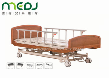 China Wooden Head Clinic / Hospital Patient Bed MJSD04-03 Electric Control supplier