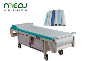 China 2040X630X605mm Electric Examination Table Hospital Furniture With Heater supplier