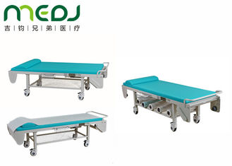 China Econo Electric Medical Exam Bed 4 Casters For Abdomen / Renal / Breast supplier