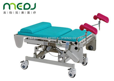 China Automatic GYN Gynecological Examination Couch Obstetric Table Adjustable Height supplier