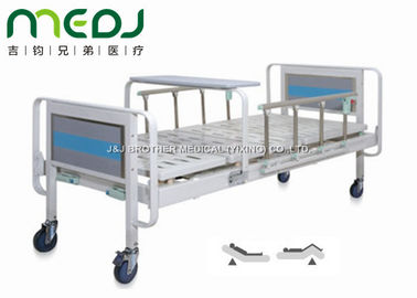 China Home Care Manual Hospital Bed MJSD06-04 With Aluminum Alloy Side Rail supplier