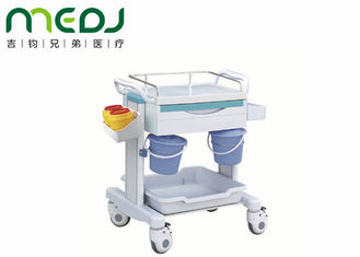 China First Aid Hospital Medicine Trolley Durable Cart MJTC01-06 ABS Top Platform supplier