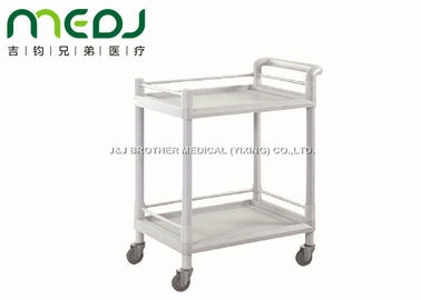 China ABS Silent Hospital Instrument Trolley Emergency Cart 90X45X62cm MJTC01-11 supplier
