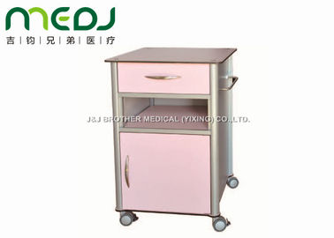 China Ward Locker Hospital Bedside Cabinet , OEM Medical Bedside Table For Sanatorium supplier
