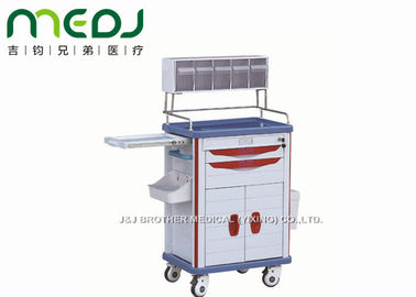 China Anesthesia Hospital Medicine Trolley Multi - Function Cart MJTC02-03 supplier
