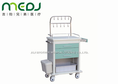 China Infusion Nursing Medical Storage Trolley MJTC02-04 With Three Drawers supplier