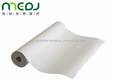 China White Disposable Bed Sheet Roll 58cmX50m For Examination / Massage supplier