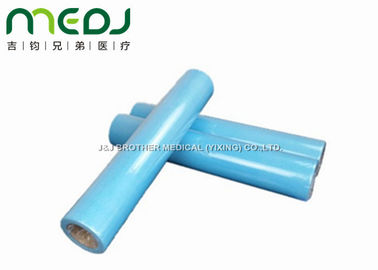 China PE Laminated Disposable Bed Sheet Roll , Breathable Exam Table Paper Sheets supplier
