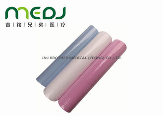China Pure Pulp / Recycle Hospital Bed Paper Roll Hygienic For Pediatric Treatment supplier