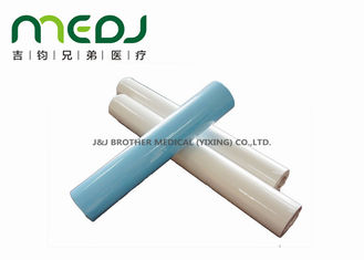 China Gynecology Exam Disposable Bed Sheet Roll , Hygiene PE Coating Non Woven Bed Roll supplier