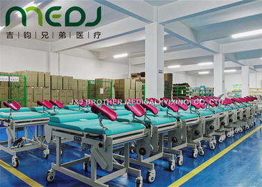 China Powder Coated Gynecological Examination Table , Durable Stainless Steel Gyno Exam Table supplier