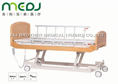 China Semi Fowler Electric Hospital Bed MJSD04-09 Nursing Bed With Wood Board supplier