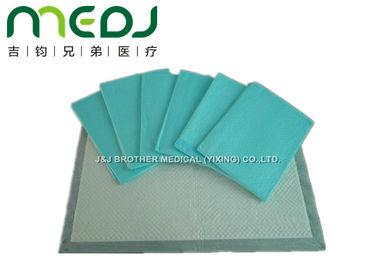China Incontinence Disposable Medical Underpads High Absorptance Waterproof PE Film Bottom supplier