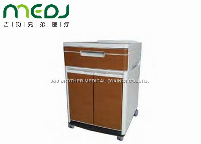 sc 1 st  Ultrasound Examination Table & ABS Brown Locker Hospital Bedside Cabinet MJCG01-10 Two Doors 4 Castors