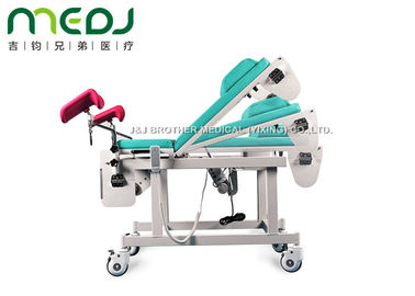 China MJSD03-03 Gynecological Examination Table Electric Birthing Bed 0-45° Backrest factory