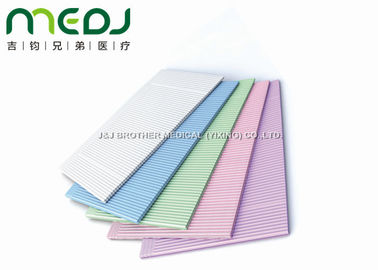 Customized Dental Disposable Bibs Consumable , Clinic Disposable Patient Bibs