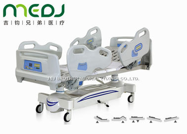 Five Functions Electric Hospital Bed With Side Rails , MJSD04-05 Adjustable Hospital Beds