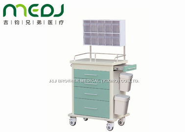 102cm Height Medical Trolley Cart Anesthesia MJTC02-02 With Diagonal Brakes