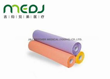 Corrugated Examination Bed Paper Roll Disposable Paper And PE Film Material