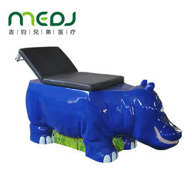 China Children ' S Ultrasound Examination Table Hippo Shape Metal Medical Bed factory
