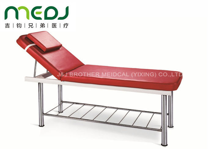 Manual Hospital Exam Table Simple Type MJSD07-04 With Soft PU Matress